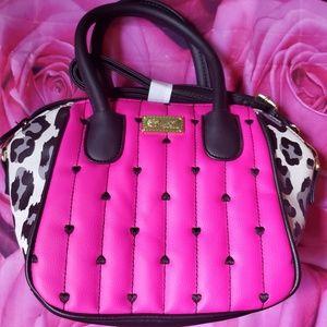 Nwt Betsey johnson Bag Purse Pink New
